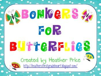 Bonkers for Butterflies