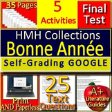 Bonne Annee 8th Grade HMH Collections 1 - Activities and Test -  HRW