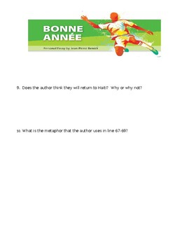 Bonne Annee Quiz