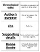 Bonne Annee Vocabulary Word Sort