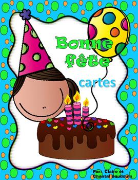 Bonne Fête  cartes d'anniversaire