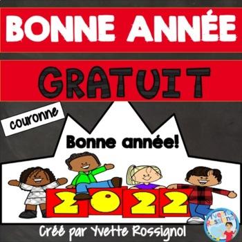 Bonne année! Couronne, Le nouvel an   La nouvelle année  French New Year's crown