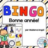 Bonne année!  French New Year Bingo Game
