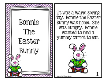 Bonnie the Easter Bunny Interactive Story and Activities