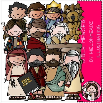 Melonheadz: Bible Heroes clip art