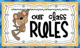 Bono the Monkey Classroom Rules and Bono Stars