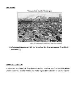 Bonus Army March Hoover Great Depression