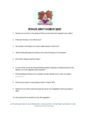 Bonus Army March of 1932 Quiz