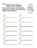 Bonus Letter Builder