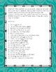 Bonus Letter Fill In-the-Blank Memory Game & Bonus Story