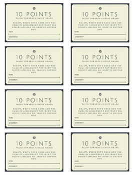 Bonus Point Coupons