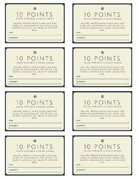 Bonus Point Coupons