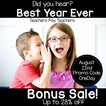 Bonus Sale Promo Button