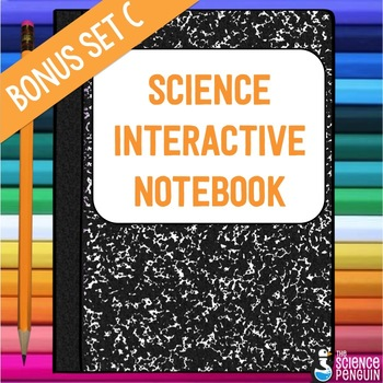 Bonus Interactive Science Notebook Templates