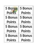 Bonus points