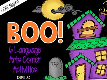 Boo! 6 Halloween Language Arts Activities: CCRS Aligned!