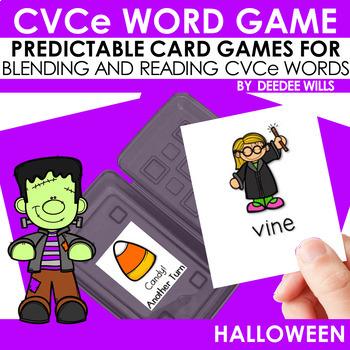 CVCe Game: Boo! A Halloween  Game