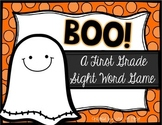 Boo! A Halloween First Grade Sight Word Game