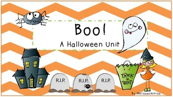 Boo! A Halloween Unit