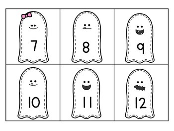 Boo! A Number Identification Game