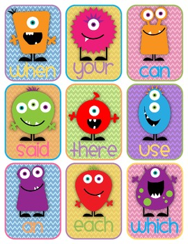 Boo! A Scary-Fun Card Game - Fry's High Frequency Words: First Hundred