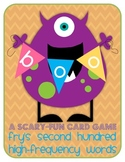 Boo! A Scary-Fun Card Game - Fry's High Frequency Words: S