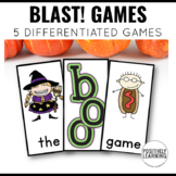 Halloween Literacy Games