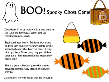 Boo! A Spooky Ghost game!