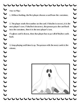 Boo! An Alphabet Game