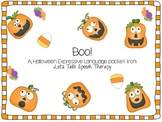 Boo! An Expressive Language Packet for Speech Therapy