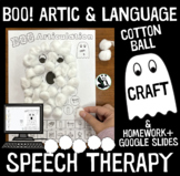 Boo! Articulation and Language : A Speech Therapy Craft Ac