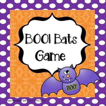 Speech Therapy Game Halloween