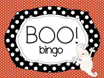 Boo Bingo