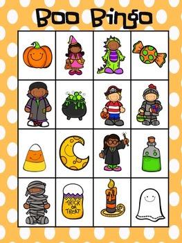 Boo Bingo (Halloween Bingo)