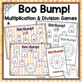 Boo Bump! Halloween Multiplication and Division Games - Freebie in the Preview!