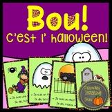 Boo!  C'est l'halloween!  Emergent reader, teacher book, s
