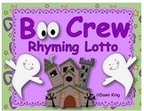 Boo Crew Rhyming Lotto
