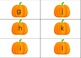 Boo! Editable pumpkin letter cards!