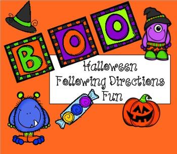 Boo: Following Direction Fun