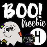 Boo Freebie #4 {Creative Clips Digital Clipart}