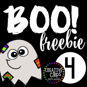 Boo Freebie #4 {Creative Clips Digital Clipart}