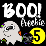 Boo Freebie #5 {Creative Clips Digital Clipart}