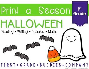Print a Season: Halloween {Math and ELA Printables}