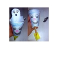 Boo!-Ghost Puppet with Flying Bat