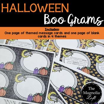Boo Gram Notes