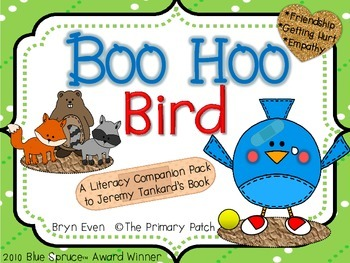 Boo Hoo Bird: A Literacy Companion Pack to Jeremy Tankard's Book