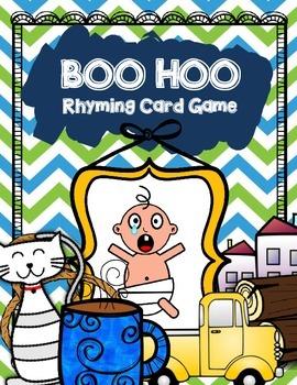 Boo Hoo Rhyming Card Game