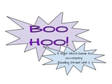 Boo Hoo Sight Word Game- Reading Street All Units (1-6)- Common Core 2.RF.3