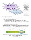 Boo Hoo Sight Word Game - Reading Street Unit 1- Common Co