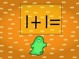 Boo! Interactive Powerpoint Game for Doubles Facts
